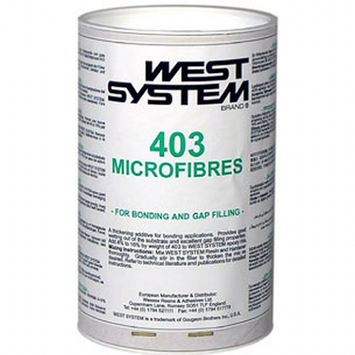 West System 403 Microfibres for Bonding and Gap Filling 150g